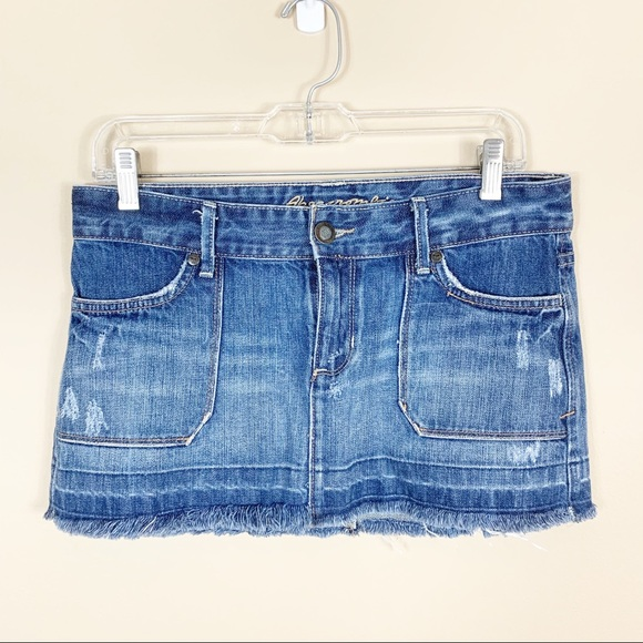Abercrombie & Fitch Dresses & Skirts - Abercrombie & Fitch | Jean Skirt
